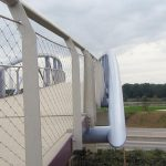 Webnet Balustrading for Bridge Safety