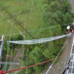 Haggen Bridge Webnet Installation Aeriel View