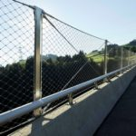 Hundwilertobel Bridge Safety Webnet Panels