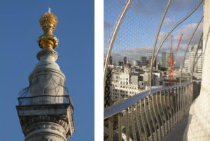 London Monument Viewing Platform