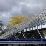 Pedestrian Bridge France Exterior